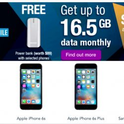 Singtel: Coupon Code for $30 OFF All Phones Online + Up to 16.5GB data with Easy Mobile