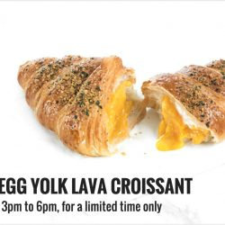 Starbucks: NEW Mid-Day Treat - Salted Egg Yolk Lava Croissant