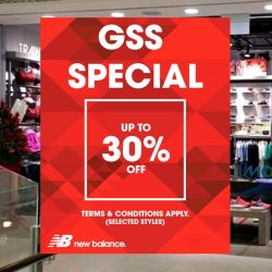 New Balance: GSS Sale Up to 30% OFF on Selected Styles