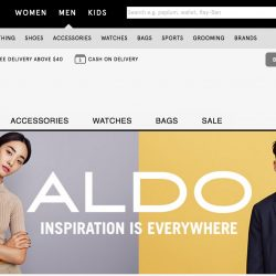 Zalora: Coupon Code for Extra 30% OFF on ALDO Men's Fashion