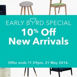 Hipvan: Early Bird Special Coupon Code for Extra 10% OFF on New Arrivals