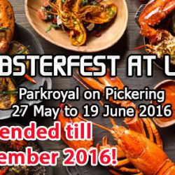 Parkroyal on Pickering: Lobsterfest at Lime