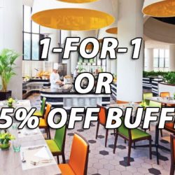 Holiday Inn Atrium Restaurant: 1-for-1 Buffet for Mother's Day & 55% OFF for NTUC Members