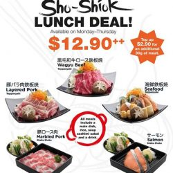 Sho Teppan: Value Lunch Deal at $12.90++