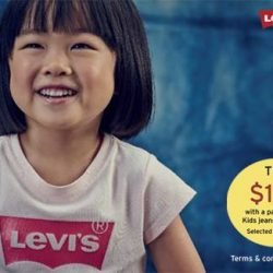 KidStyleSg: $25 off for each purchase of Levi's Kids jeans