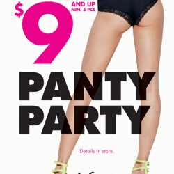 La Senza: Panties from $9 min. 5 purchased