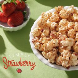 Garrett Popcorn: Limited flavor Simply Strawberry Available until 29 May