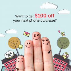 Singtel: Get $100 OFF all phones when you sign up for a MobileShare plan