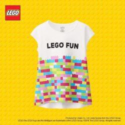 Uniqlo : Get one LEGO toy free* when you purchase any two LEGO T-shirts