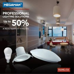 Home-Fix: Professional Lighting Solutions Up to 50% OFF at Marina Square