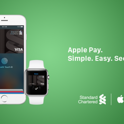 Standard Chartered Bank: 20% CashBack when you pay with Apple Pay
