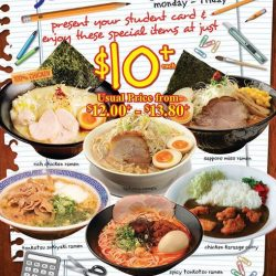 Ramen Champion: Weekday Student Deals