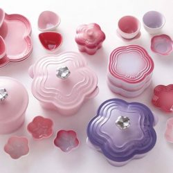 Le Creuset: New Limited Edition Flower Casserole with Flower Knob
