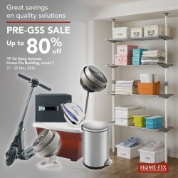 Home-Fix: Enjoy savings of up to 80% at Home-Fix's Pre-Great Singapore Sale!
