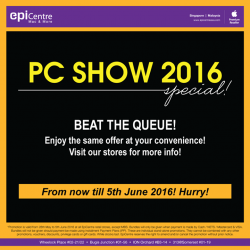 EpiCentre: PC Show 2016 Special Offers