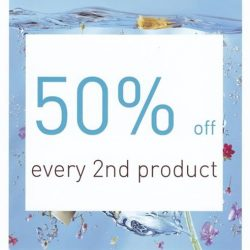 AHAVA: 50% off every 2nd regular priced products + 15% off gift sets