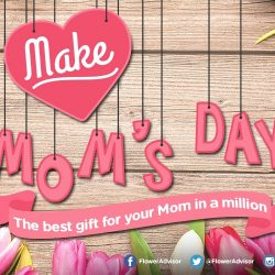 Flower Advisor: Mother's Day Special - Coupon Code for 10% OFF Sitewide