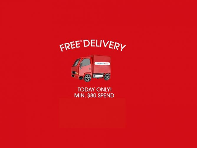 NTUC FairPrice: Enjoy free delivery when you order your groceries on FairPrice Online today!