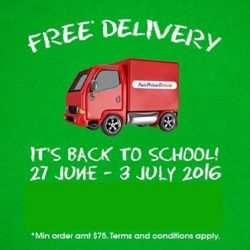 NTUC FairPrice: Enjoy free delivery when you order your groceries on FairPrice Online