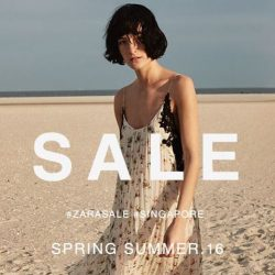 Zara: Great Singapore Sale starts!