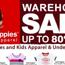 Hush Puppies: Warehouse Sale Up to 80% OFF