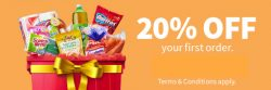 Redmart: Coupon Code for 20% OFF Your First Order
