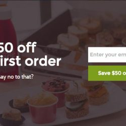 Caterspot: Coupon Code for $50 OFF Your First Order