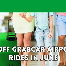Grab: Coupon Code for $5 OFF Your Airport Rides in June