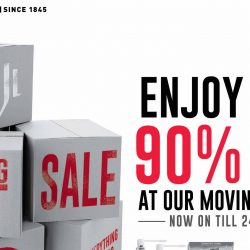 John Little: Moving Out Sale at Jurong Point Up to 90% OFF