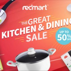 Redmart: The Great Kitchen & Dining Sale Up to 50% OFF + Coupon Code for Extra 10% OFF