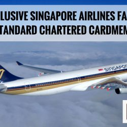 Singapore Airlines: Exclusive Airfares for Standard Chartered Credit Cardholders