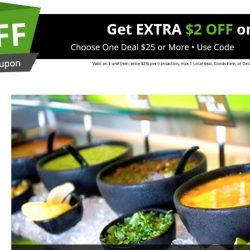 Groupon: Coupon Code for $10 OFF Your First Purchase + Extra $2 OFF on App