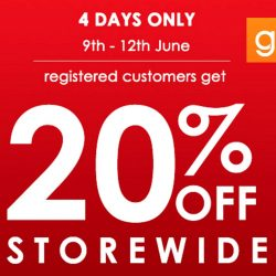 Guardian: Online and In-store Sale 20% OFF Storewide