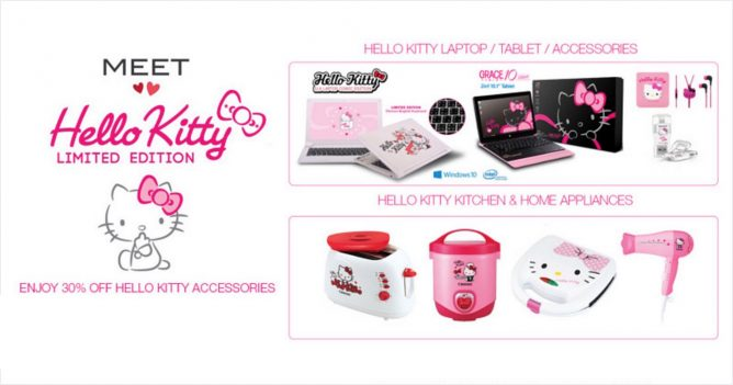3a5d72154 Courts: Limited Edition Hello Kitty Laptop & Tablet + 30% OFF Hello Kitty  Accessories