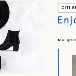 Citibank: Coupon Code for 20% OFF min. $120 Spend at Zalora