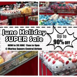 Marina Square: Sanrio June Holiday Super Sale 2016 Up to 90% OFF