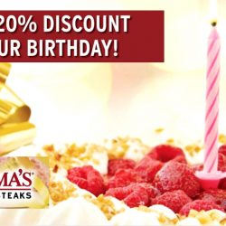 Tony Roma's: 20% OFF For Those Born in June!