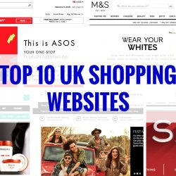 Top 10 UK Websites to Shop at NOW!