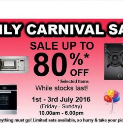 Brandt: Family Carnival Sales Up to 80% OFF
