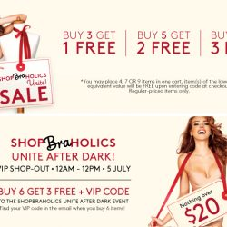 Triumph: Coupon Code for Buy 6 Bras Get 3 FREE