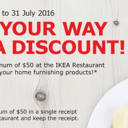 IKEA: Eat Your Way to a Discount! Get $50 OFF Home Furnishing Products with $50 Spend at IKEA Restaurant