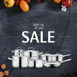 WMF: Atrium Sales at Causeway Point, Bedok Mall, OG Albert & BHG Expo