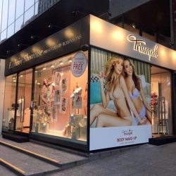 Triumph: Exclusive showcase located outside Robinsons The Heeren for weekly specials