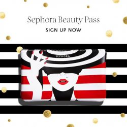 Sephora: Sephora Beauty Pass members receive this limited-edition pouch when you make a purchase