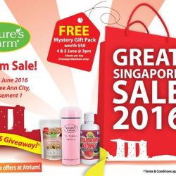 Nature's Farm: Ngee Ann City Atrium Sale with more than 50% OFF