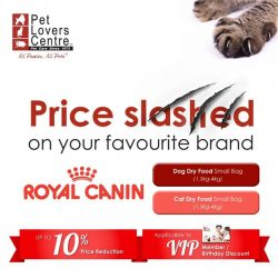 Pet Lovers Centre: Prices Slashed Alert! Up to 10% further price reduction on your favourite brands