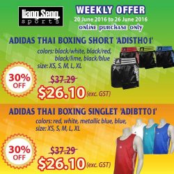 Liang Seng Sports: Weekly Offers Up to 30% off