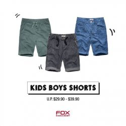 Fox Fashion: Buy 3 items and get 3 items FREE at End Season Sale