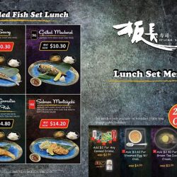 Itacho Sushi: Set lunch promotion on weekdays
