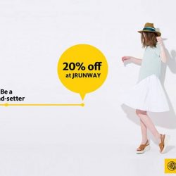 Maybank: 20% off your purchase at JRUNWAY.com